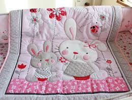 rabbit crib bedding sheet wire picture more detailed picture about pink rabbit
