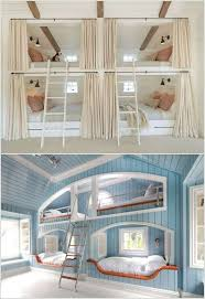 Builtin Bunk Bed Kids Rooms With Clever Use Of Space - Kids built in bunk beds