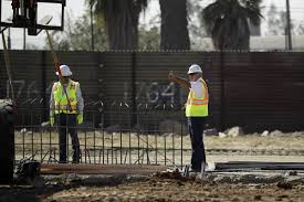 here are the makings of trump u0027s border wall nbc news