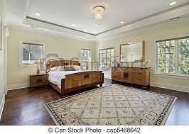plafond chambre plateau plafond maître chambre à coucher plafond photo de