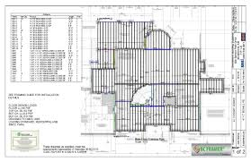 Typical Floor Framing Plan by Ewp Sbsi Engineered Wood Products