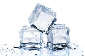 stacked cubes crystal table l three melting ice cubes stock photo evgeny karandaev karandaev
