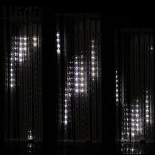 christmas lights that look like snow falling buy white led snow fall effect icicle tube lights of strictly led s