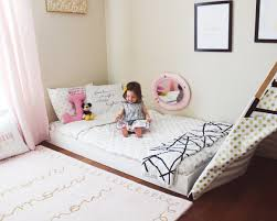 Bedroom Floor Best 25 Toddler Floor Bed Ideas Only On Pinterest Toddler Bed