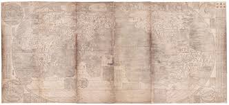 Beijing World Map by Charting Chinese History With 17th Century Jesuit World Maps