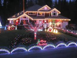 Christmas Decorations Outdoor Ideas - red and white christmas lights christmas lights decoration