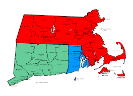 Massachusetts Town Map by Concert Venues Www Funinnewengland Com