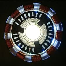 Arc Lights Magnetic Arc Reactor 7 Steps With Pictures