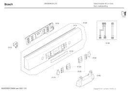 Bosh Dishwasher Manual Bosch Sms60m02eu 01 Service Manual Download Schematics Eeprom