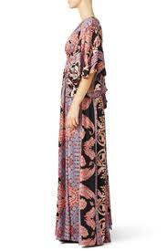 Printed Fern Maxi Party Dress By Free People For 64 Rent The Runway