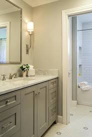 grey painted bathroom vanity walls and cabinets paint color with