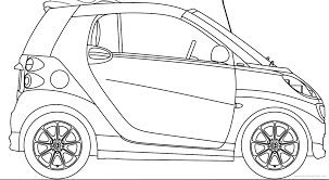 the blueprintscom blueprints amp gt cars smart fortwo cabrio