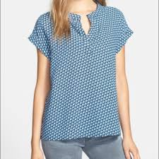 pleione blouse 48 pleione tops nordstrom pleione split neck blouse from