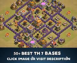 layout design th7 top 50 best th7 war base farming hybrid trophy layouts 2018