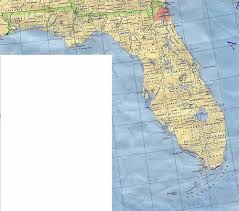 Map Florida Cities by Florida Map