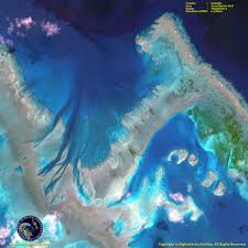 Great Barrier Reef Map Worldview 2 Satellite Image Great Barrier Reef Satellite Imaging