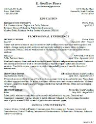 Marketing Assistant Resume Sample Sample Resumes University Career Services