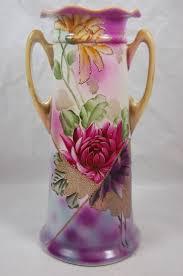 Nippon Hand Painted Vase Flower Vases Ebay