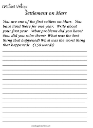 creative writing worksheet worksheets