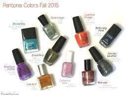 pantone colors fall 2015 u2013 nail polish edition u2013 elektra deluxe