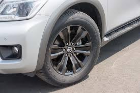 nissan armada wheel size 2017 nissan armada platinum first test review motor trend