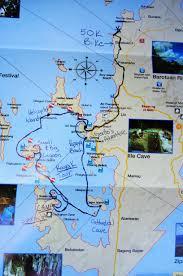Kayak Map El Nido El Gordo El Perfecto Voychicktravel