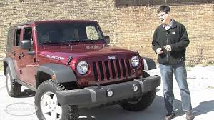 jeep burgundy interior 2010 jeep wrangler unlimited rubicon youtube