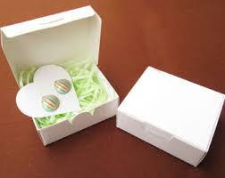 jewelry box 50 small white box jewelry box wedding favor box gift box soap