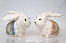 Easter Home Decorations Easter Bunny Amigurumi Pattern Easter Crochet Pattern Rabbit