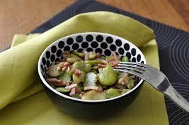cuisiner feves recette poêlé de fèves