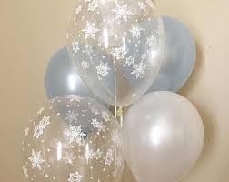 snowflake balloons snowflake balloons etsy