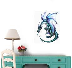 amazon blue dragon wall decal amazon blue dragon wall decal