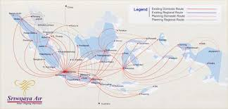 Allegiant Air Route Map Indonesia Flight Sriwijaya Airlines