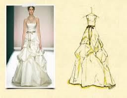 wedding dress sketch solomon events