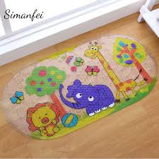 Bathroom Floor Mats Rugs Simanfei Bathroom Floor Mats Kitchen Carpet Toilet Non Slip Rugs