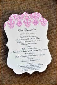 programs for a wedding 7 wedding reception program formal letter