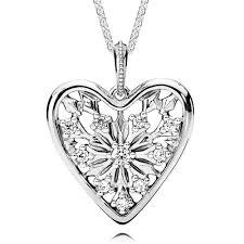 pandora heart necklace pendant images Pandora heart of winter cz necklace