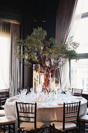 glamorous wedding centerpieces family trees centerpieces and