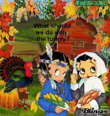 81 best betty boop fall thanksgiving images on betty