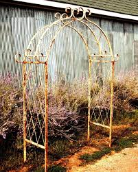 Wood Trellis Plans by Garden Decor Metal Garden Trellis Build A Cheap Metal Garden