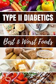 type ii diabetics u2013 best and worst foods diabetes diet diabetes