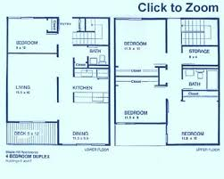 4 bedroom apartment floor plans 4 bedroom apartments ithaca east apartments