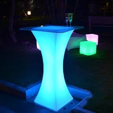 Led Bistro Table Led Light Manufactuer Led Bistro Table Oem Bar Led Cocktail