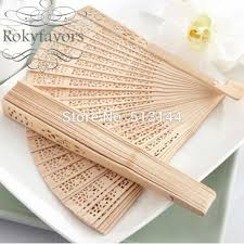 sandalwood fans free shipping 50pcs sandalwood fans wedding party favors birthday