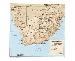 World Map 1980 Maps Of South Africa Detailed Map Of Republic Of South Africa In
