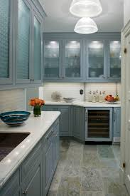 Slate Grey Kitchen Cabinets Image The Possibilities In This Beautiful Blue Kitchen With