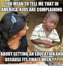 Meme Education - complaining about an education by ted willette 9 meme center
