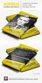 Business Card Template Jpg Creative Dj Business Card Template Dj Business Cards Pinterest
