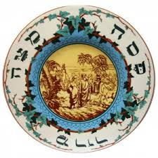 pesach plate seder plates for sale judaica web store