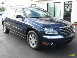 2004 chrysler pacifica awd in midnight blue pearl 313948 jax